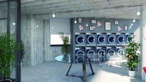 エレクトロラックス・ジャパン、都市向けコインランドリーのデザインパッケージを展開