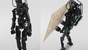 産総研、石膏ボード施工が可能な人間型ロボット試作機を開発