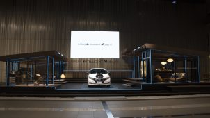 日産、V2Hシステム搭載モデルハウスを公開 「Nissan Energy」発表
