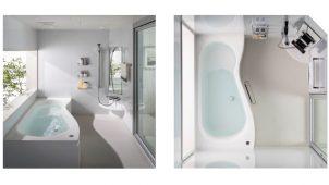 積水ホームテクノ、洗い場の使い勝手を向上した戸建てユニットバス