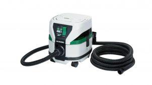 工機HD、電動工具と無線連動作業ができるコードレスクリーナ