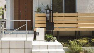 日東工業、高耐久・高防水な戸建向け宅配ボックスを発売