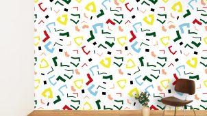 壁紙「WhO」が、パリ発の文具ブランド「パピエティグル」とコラボ