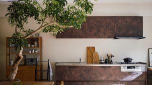 クリナップ、普及価格帯キッチン「ラクエラ」にビンテージ調扉