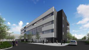 三菱電機、ZEB関連技術の実証棟を建設