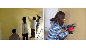 大阪府住宅供給公社、団地内にコミュニティスペース「DIYのいえ」を開設