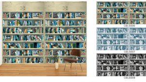 壁紙ブランド「WhO」、新デザインは「本」のある空間