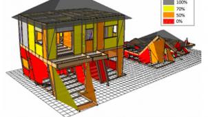 「Walk in home」に地震時倒壊過程シミュレーション機能が追加