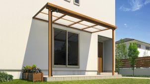 三協アルミ、求めやすい価格の木調デザインテラスを発売