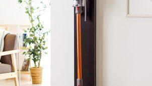 サンワサプライ、コードレス掃除機用のタワー型スタンドを発売