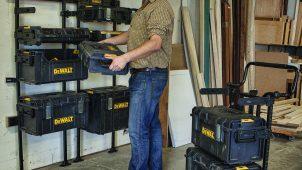 ブラック&デッカー、プロ向けツールボックス「タフシステム」4種を発売
