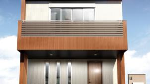 【高性能住宅に使いたい注目建材】<br>業界初<sub>※1</sub><br>SGL鋼板®<sub>※2</sub>採用の金属サイディング<br>新柄や新色でデザインにも幅
