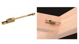 BXカネシン、木痩せによるナットの緩みを防止する羽子板ボルト発売