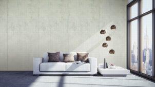 サンゲツ、日本的デザインの大版セラミック装飾建材
