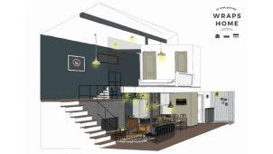ロストアンドファウンド、規格住宅「WRAPS HOME」を開発