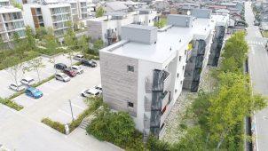 YKK、パッシブタウン第3街区が「JIA環境建築賞」特別賞を受賞