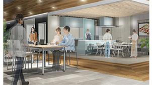クリナップ、新コンセプトショールーム「キッチンタウン・横浜」を開設