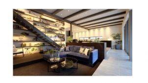カツデンアーキテック、集合住宅用シースルー階段を発売