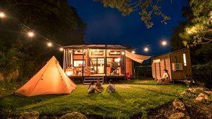 天城カントリー工房、タイニーハウスを体験できる宿泊施設オープン