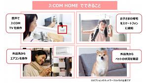 ジュピターテレコム、ホームIoTサービスを提供