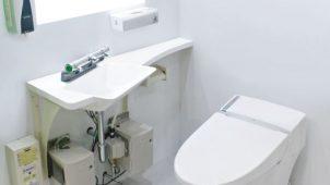 ウイルスを外に持ち出さない、トイレ個室専用手洗いを発売