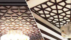 みはし、ポリウレタン製の天井・壁面装飾材を発売