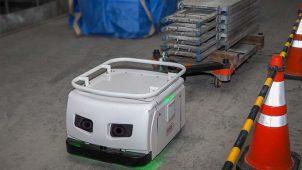 東急建設とTHK、建設現場用搬送ロボットの実証実験開始 20年春商用化へ