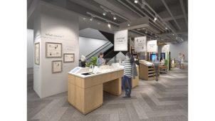 パナソニックセンター大阪、触覚や嗅覚でイメージ広げるインテリア体感型コーナー