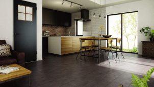 三協アルミ、合板フロアにコンクリート調の新柄を追加