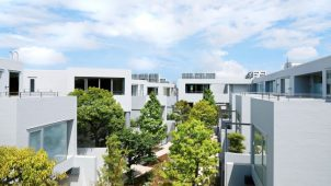 リビタ、東京・世田谷にメゾネット住戸リノベーションの分譲マンション