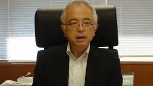 野村大臣官房長、「社会資本整備は未来への投資」 予算要求に意欲