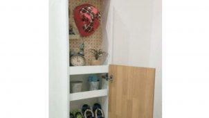アイフルホーム、子どもの身支度・片付けをサポートする玄関収納