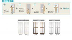 LIXIL、既設枠を残したまま設置できるリフォーム専用浴室ドア