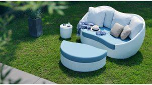 LIXIL、人工ラタン+手仕事による「ガーデンファニチャー」発売