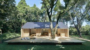 MUJI、ウッドデッキ付き平屋住宅を提供