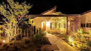 タカショー「第10回光の施工例コンテスト」グランプリはlittle bear garden