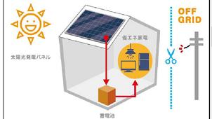 ヤマダホームズ、電気と水を自給自足する「オフグリッドシステム蓄電池」搭載の住宅発売