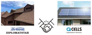 ディートレーディング高耐久性屋根材へのQセルズ・太陽光パネル設置が可能に