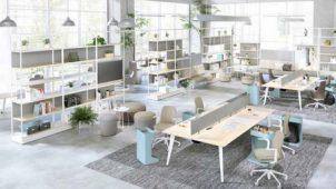 オカムラ、オフィス家具の品ぞろえ強化 チームの一体感創出するオフィスへ
