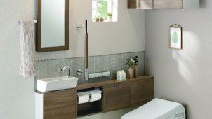 TOTO、好みのトイレ空間が選べるカウンター付き手洗い器