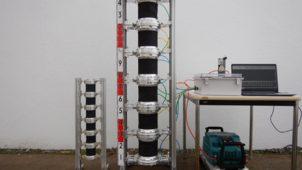 NEDO、土砂搬送が可能な「ぜん動ポンプ」試験機を完成