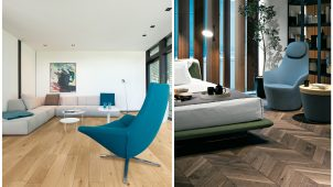 イクタ、インフルウイルスを低減する床材に新デザイン