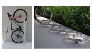 デザイン性にこだわった駐輪ラック2種類を発売