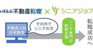 いえらぶGROUP、シニア不動産人材紹介を強化 シニアジョブと提携