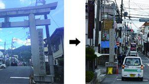 地震で失われたシンボル「鳥居」 地元棟梁が再建、1000万自腹で丸太調達