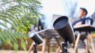 タカショー、庭専用の高品質スピーカーシステムを発売