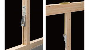 BXカネシン、非住宅木造の108kN引抜きに対応する金物を発売