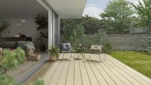 LIXIL、ウッドデッキ「樹ら楽ステージ」に2色を追加