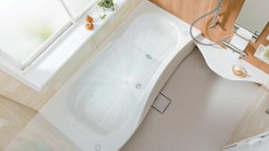トクラス、普及価格帯バスに浴槽洗浄+ミクロ泡のオプション追加