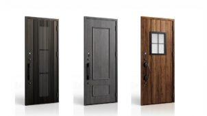 LIXIL、「玄関ドアDA/防火戸」に17デザイン追加